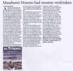 Titanic recensie