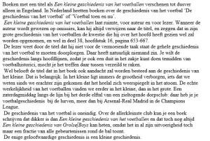 Voorwoord Bert Wagendorp een kleine geschiedenis