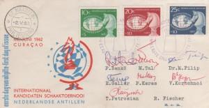 1 schaakolympiade 1962 voorkant
