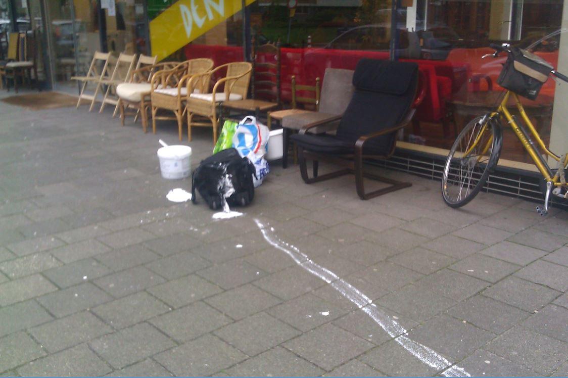 Verfwinkel Den Haag : Een drupje verf gemorst my blog