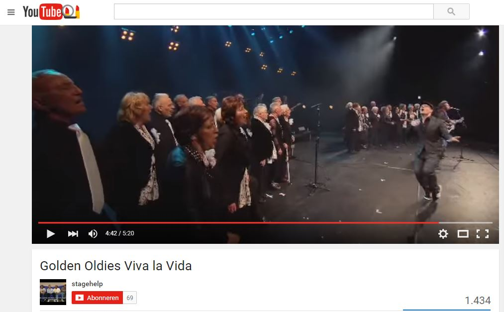 viva la vida tv golden oldies