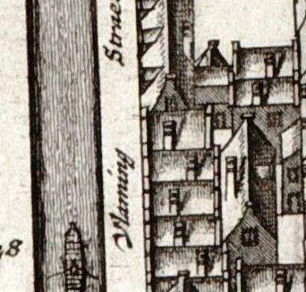 huis kaart van boven