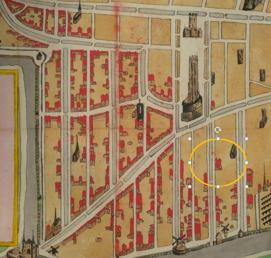 stadsbrand kaart