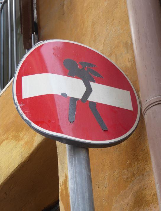 rome verkeersbord 1