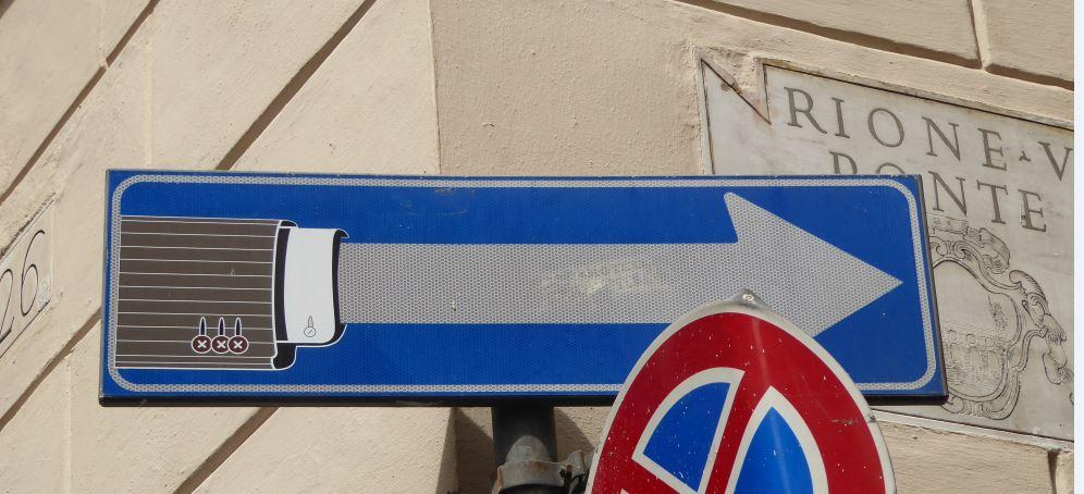 rome verkeersbord 2