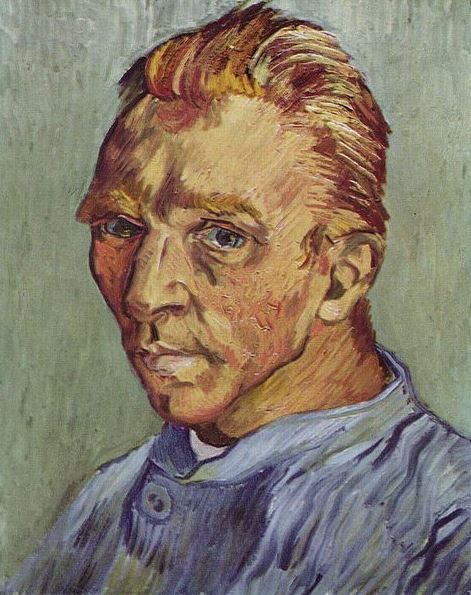 Van Gogh zonder baard