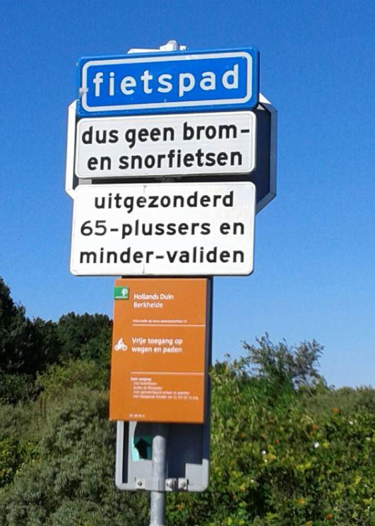 wassenaar fietsbord 2