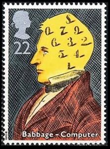 32 babage portzegel