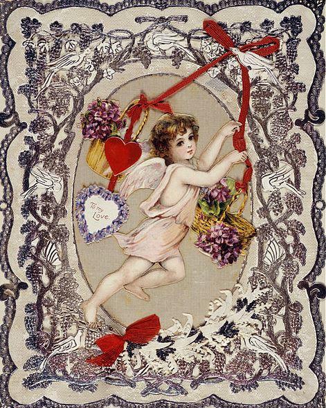 0 valentijnsdagkaart 1860