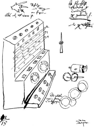 Schickard ontwerp rekenmachine