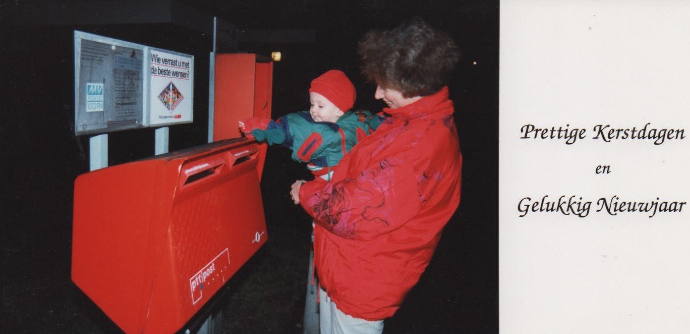 000 kerstkaart 1993