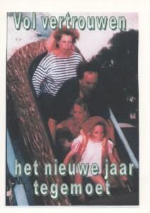 000 kerstkaart 1999