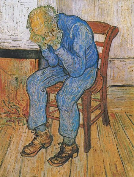 blue monday van gogh