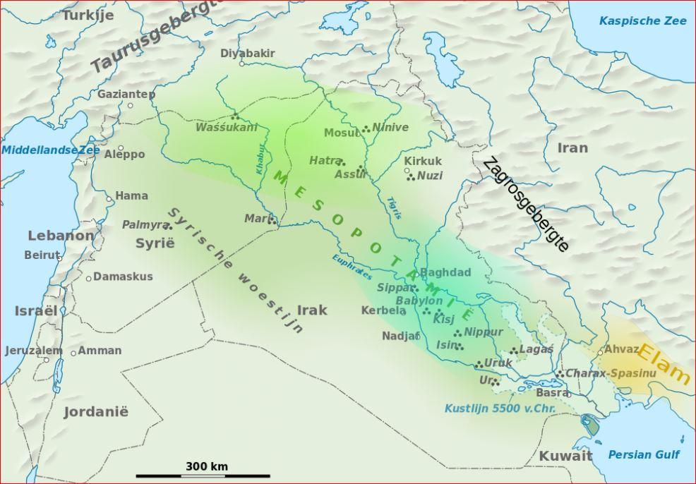 0 Mesopotamie