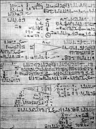 0 Rhind papyrus