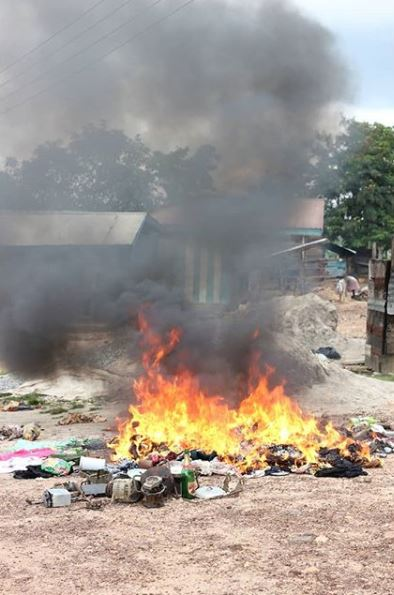 ghana afval