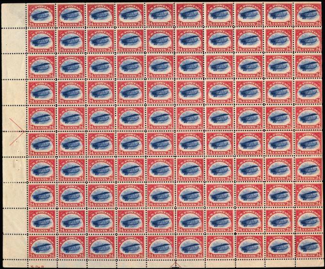 00 postzegel 100 stuks