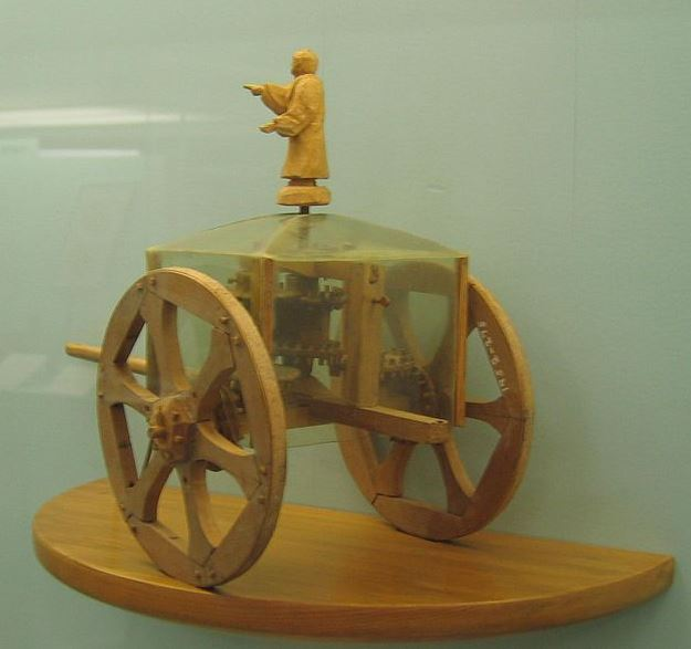 8. Zhang Heng kompaswagen