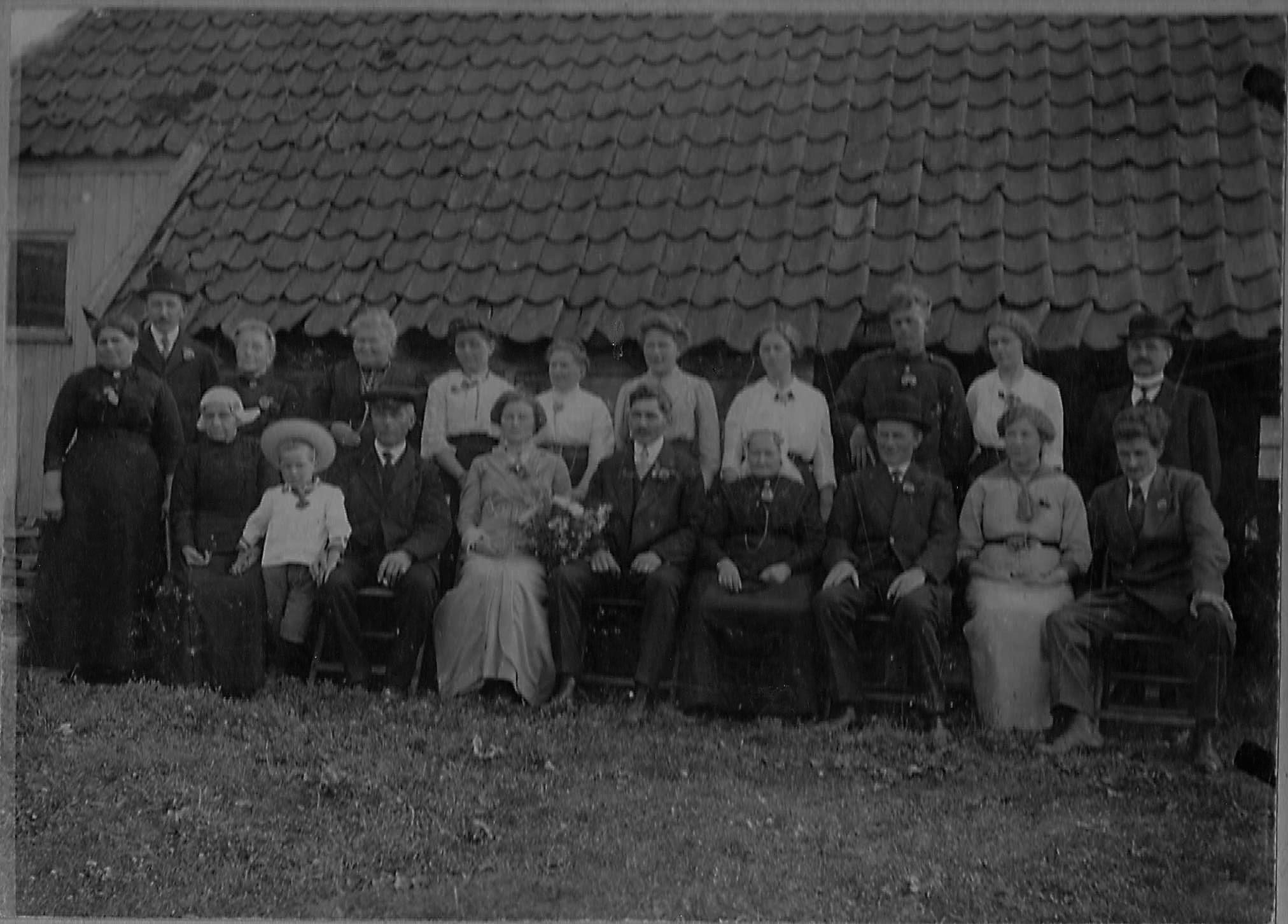 trouwfoto 1915