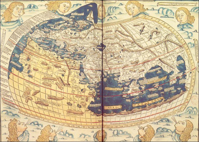 10 AL wereldkaart