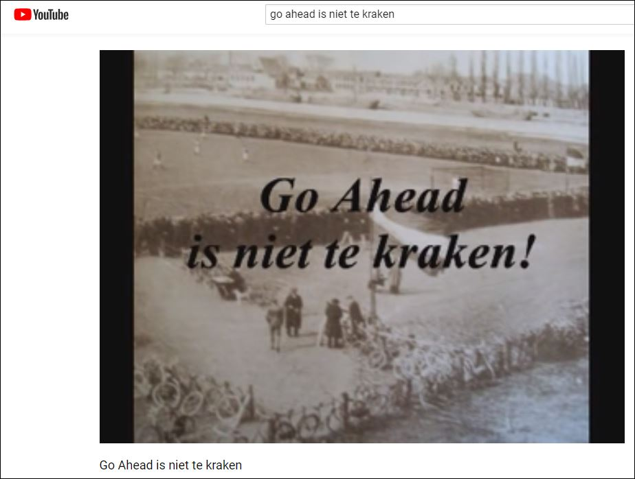 0 Go Ahead is niet te kraken