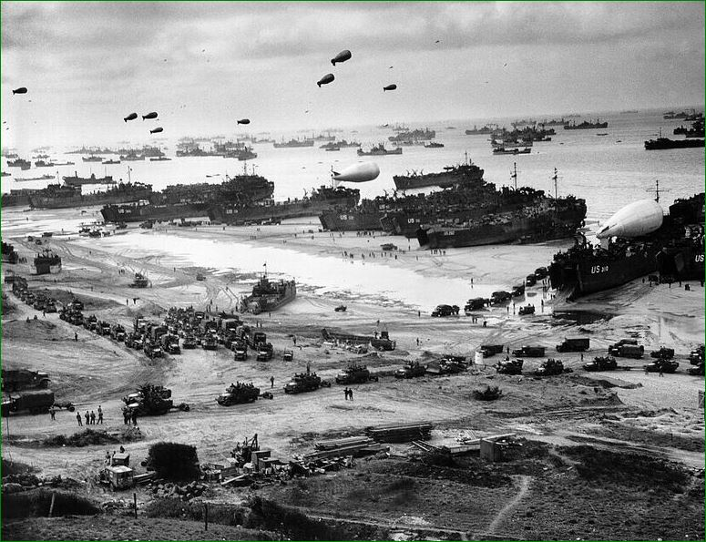 d-day later