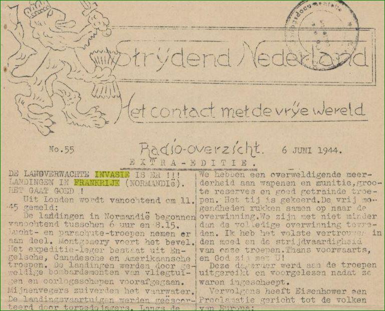 krant strijden nederland