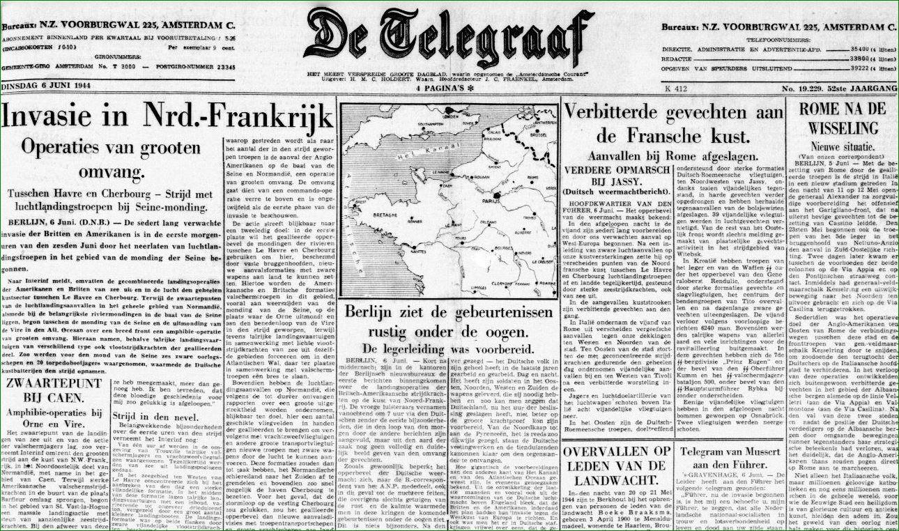 krant telegraaf