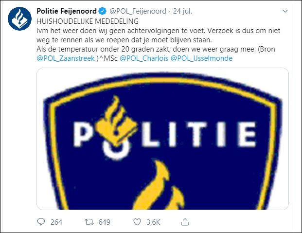 0000 40 tweet politie