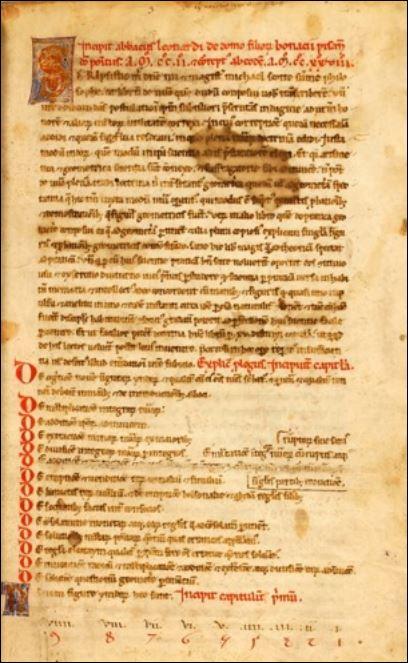 16 Leonardo eerste pagina
