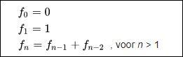 16 rij van fibonacci