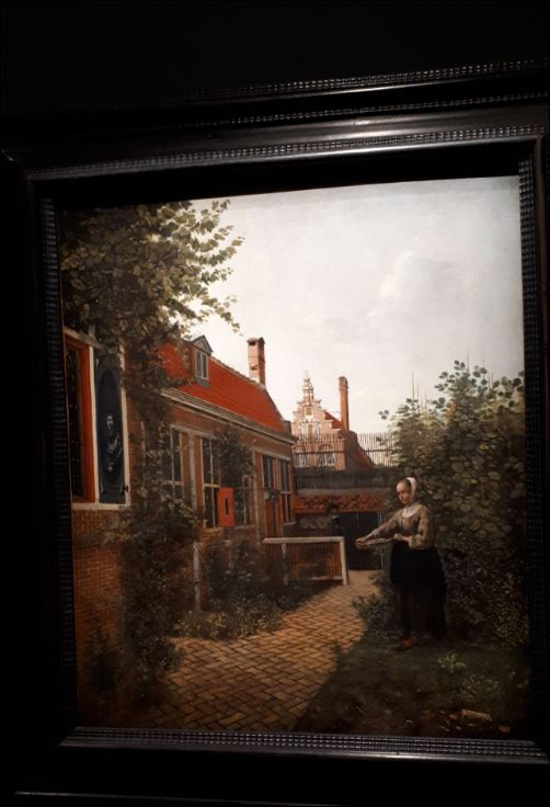 schilderij Pieter de Hoogh