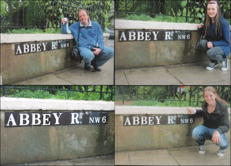 abbey road bord