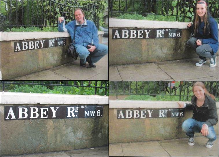 abbey road bord