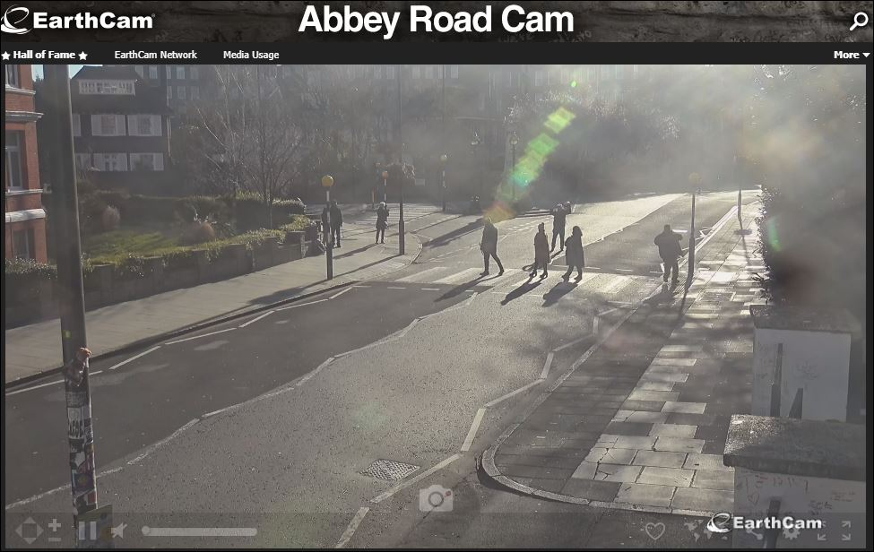 abbey road webcam