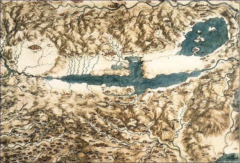20 leonardo landkaart