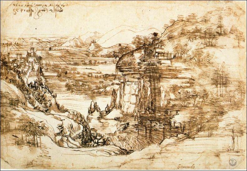 20 leonardo oudste tekening