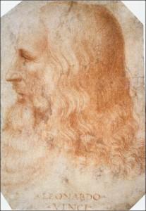 20 leonardo portret getekend door melzi