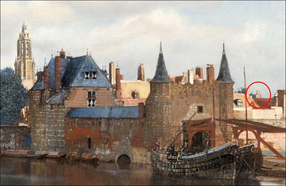 vermeer trapgeve;
