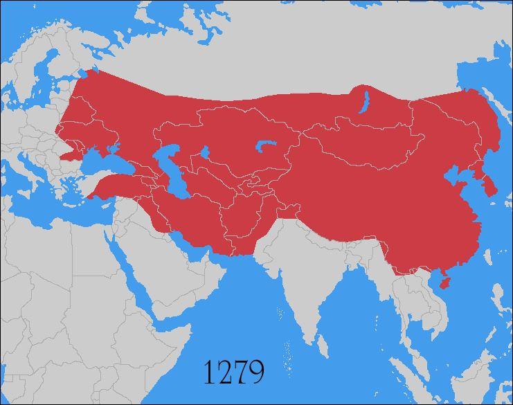 21 1000 - 15000 mongoolse rijk op hoogetpunt