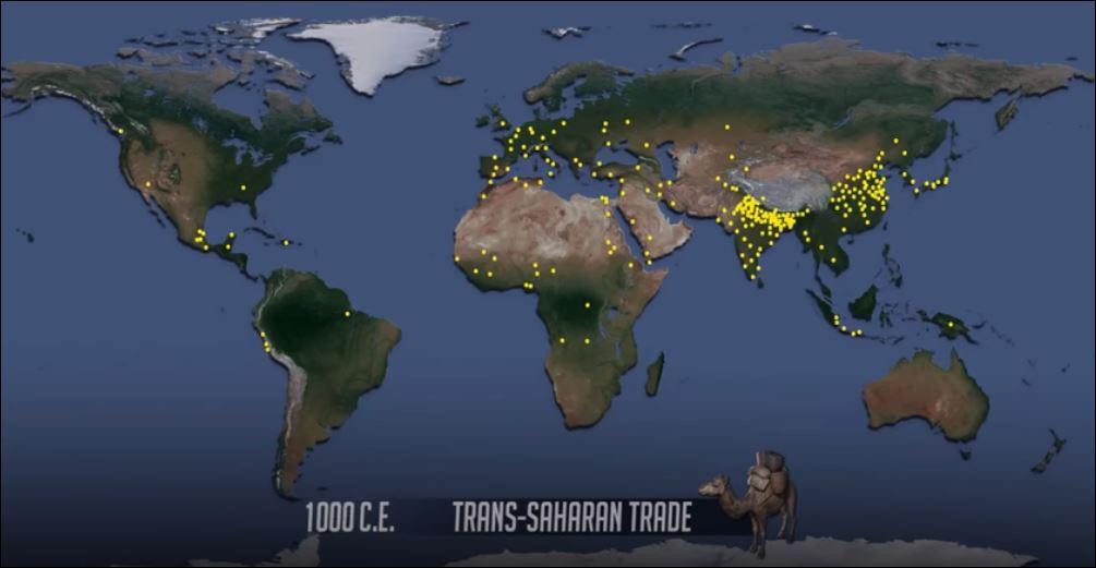 21 1000 - 15000 wereldbevolking 1000
