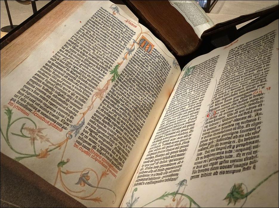 22 1000 - 15000 Gutenvberg bijbel