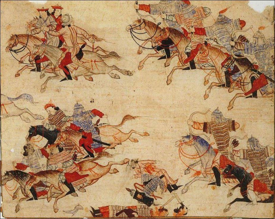22 1000 - 15000 mongoolse ruiters