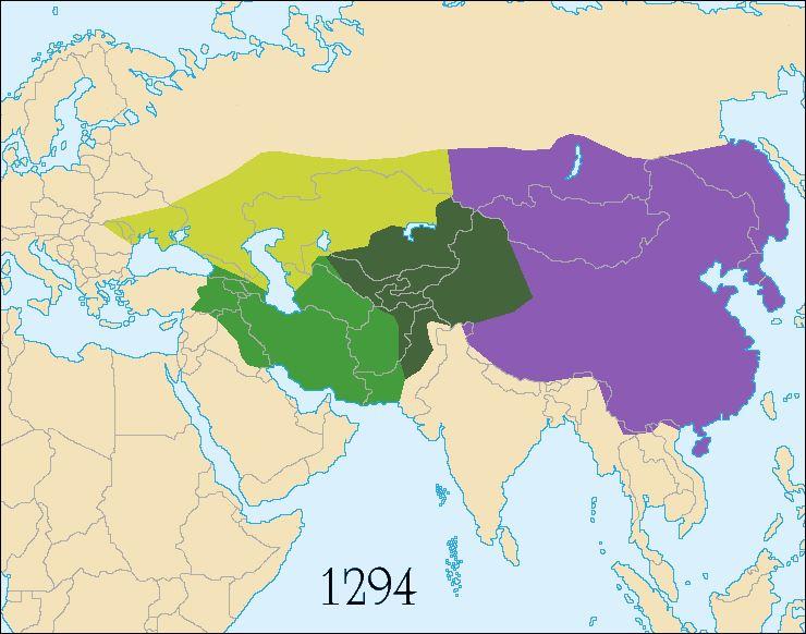 22 1000 - 15000 mongoolse uiteenvallen