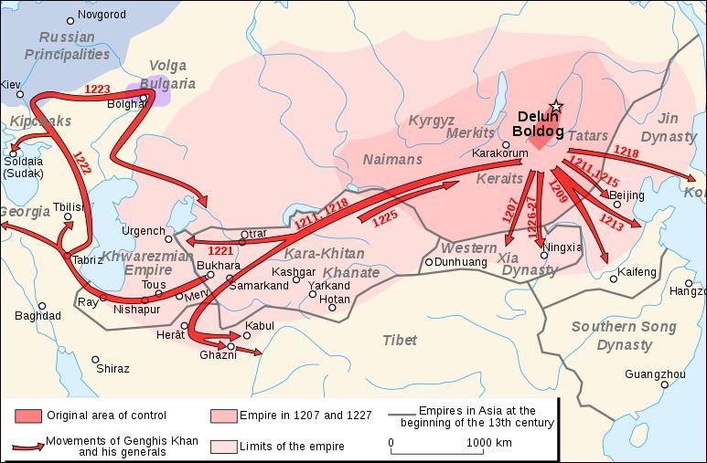 22 1000 - 15000 mongoolse veldtochten