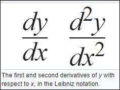 23 Leibniz notatie leinniz