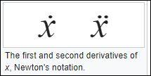 23 Leibniz notatie newton