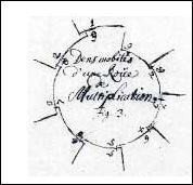 23 Leibniz orignele schets wiel