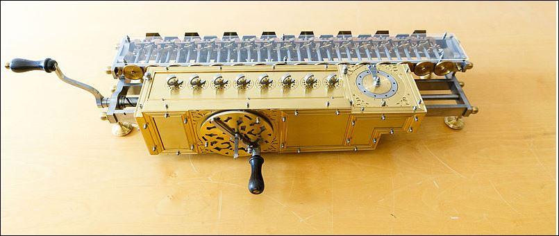 23 leibniz modern rekenmachine
